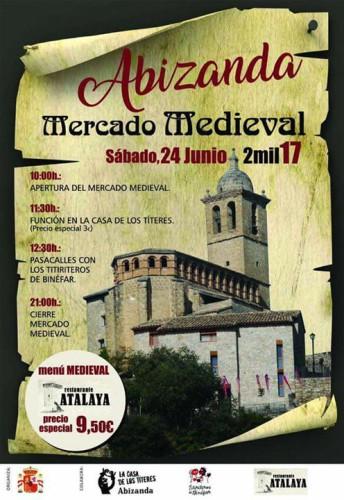 Mercado medieval abizanda 24